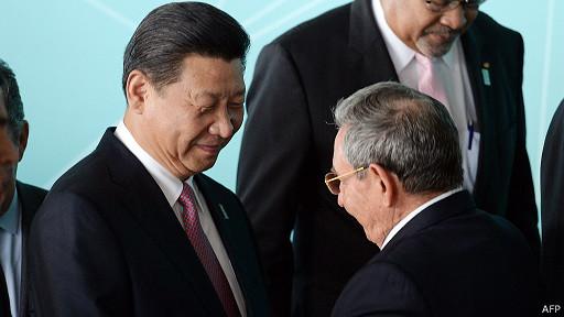 Xi Jinping, Raul Castro