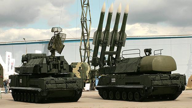 Lançador de mísseis Buk