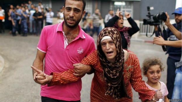 Gaza tem dia mais sangrento e mortos em ofensiva passam de 425