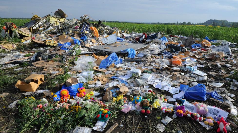 圖輯:哀悼MH17遇難者