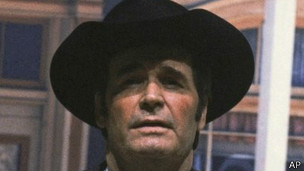 James Garner en su papel de Maverick