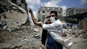 feridos em Gaza | Reuters