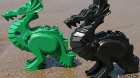Dragones de Lego