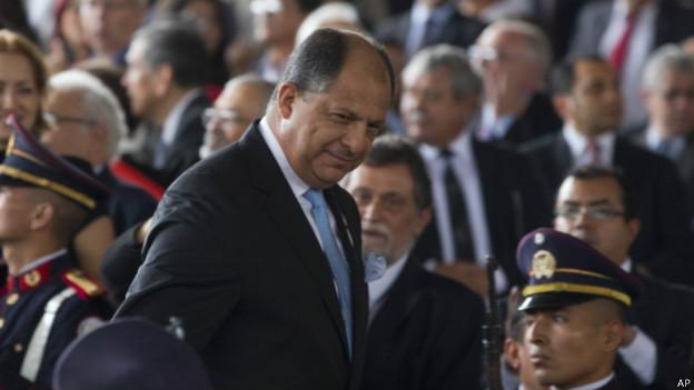 Luis Guillermo Solís presidente de Costa Rica dice que canal de Nicaragua no es amenaza