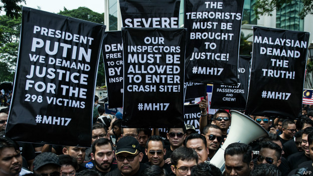 Демонстрация в Малайзии