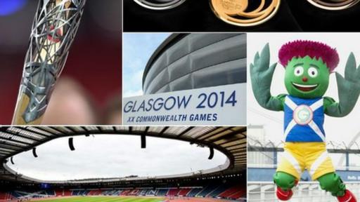 مدينة غلاسكو الاسكتلندية تستعد لحفل افتتاح بطولة ألعاب الكومنولث