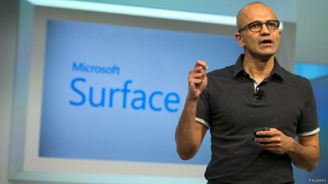 مايكروسوفت تقرر جميع وندوز بنظام واحد بوابة 2014,2015 140723170926_satya_n