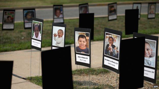 Niños que han muerto en autos calientes