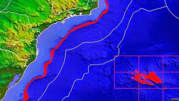 Área a ser explorada fica em águas internacionais, a 1.500km da costa do Rio de Janeiro
