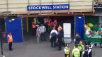 Estação de Stockwell em 2005, após a morte de Jean Charles (BBC)