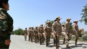 Ejército kurdo