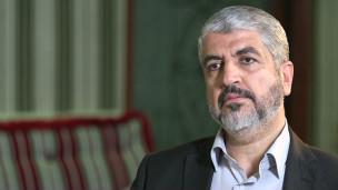 Khaled Meshal, líder do Hamas | Crédito: BBC