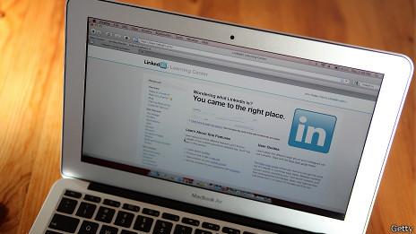 Sitio de LinkedIn