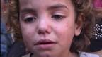 Niño tras ataque a escuela de ONU en Gaza