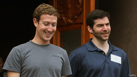 Mark Zuckerberg  y Jeff Weiner