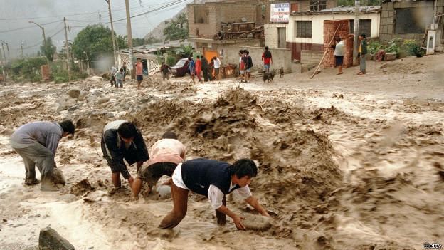 """Efectos de """"El Niño"""" en Perú"""
