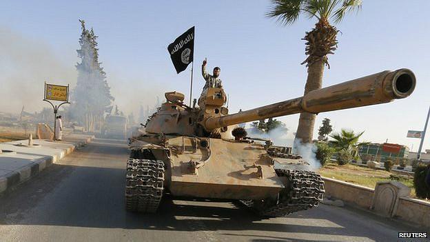 सीरिया, इस्लामिक स्टेट
