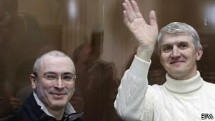 Лебедев и Ходорковский