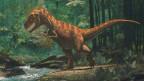 Tiranosaurio Rex en un bosque