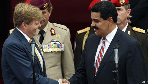 Venezuela y Holanda