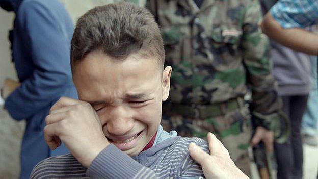 Kifah, niño sirio