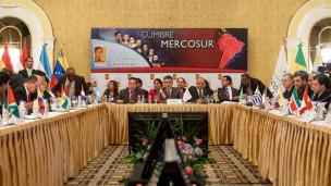 Reunião chanceleres Mercosul (AFP)