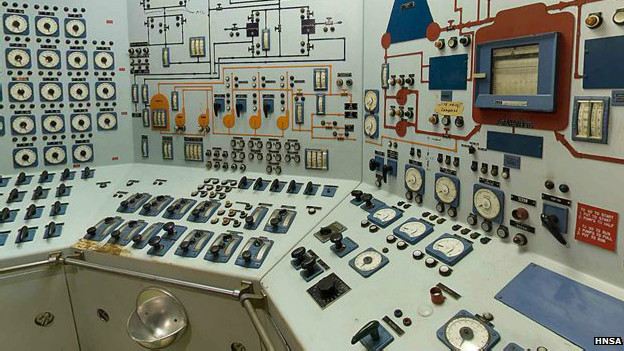 Sala de máquinas del NS Savannah