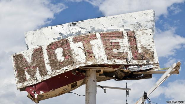 Cartel de motel