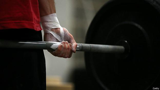 Levantamiento de pesas en CrossFit