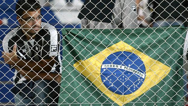 hincha del Botafogo