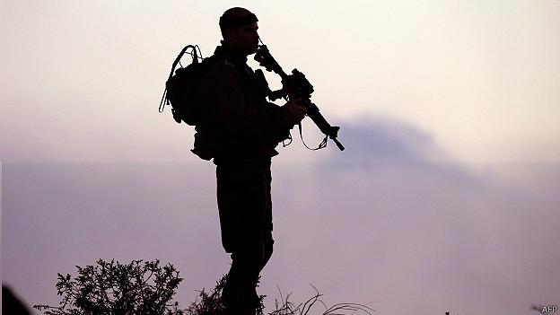 soldado israelí