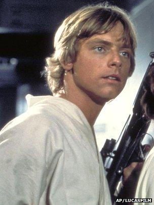Personagem Luke Skywalker, de Guerra nas Estrelas