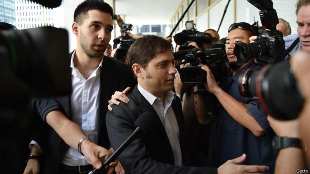 周三傍晚,阿根廷經濟部長基西洛夫(Axel Kicillof)飛往紐約,與投資者進行談判未果。