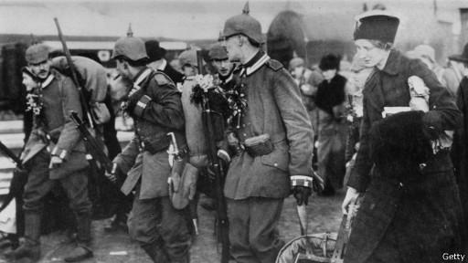 Германские солдаты