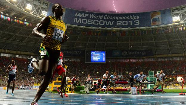 Usain Bolt Mundiales de atletismo