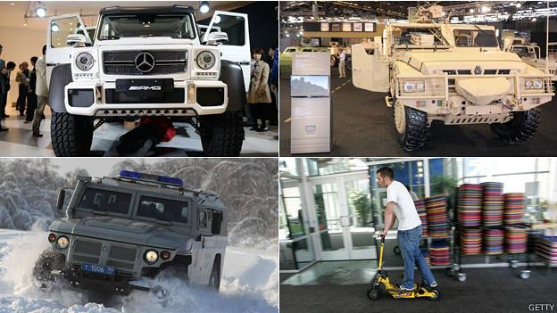 Cuatro autos militares que pueden comprar los civiles