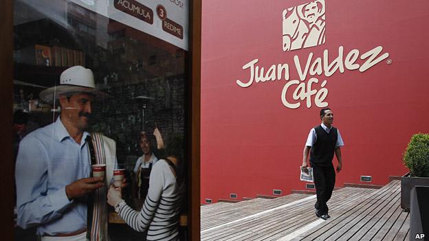 Tienda Juan Valdez en Bogotá