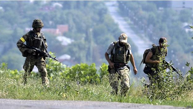 انفصاليو اوكرانيا