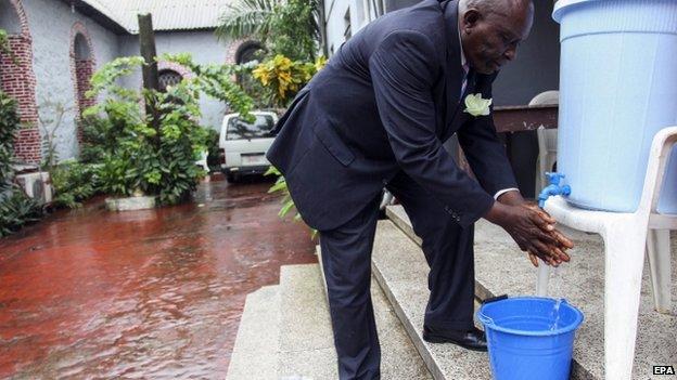 Ebola | Crédito: EPA