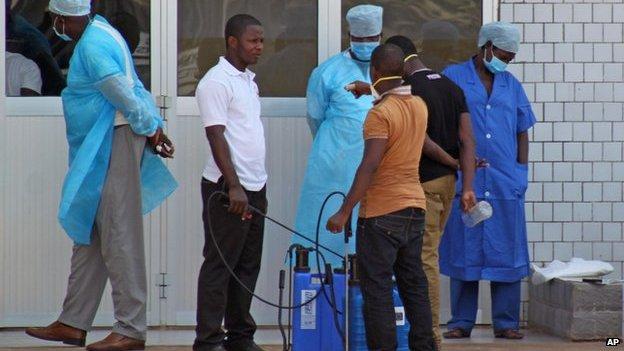 Ebola | Crédito: AP