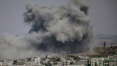 Ataque israeli en Gaza