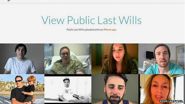Usuarios del sitio Tu última voluntad