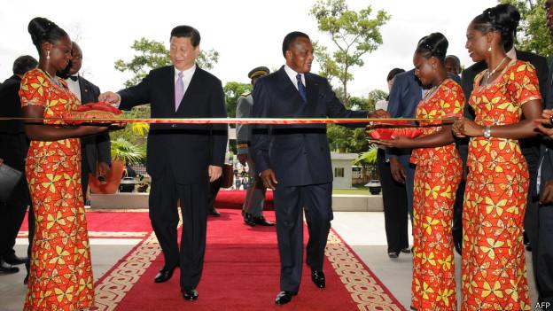 Visita del presidente chino a Congo