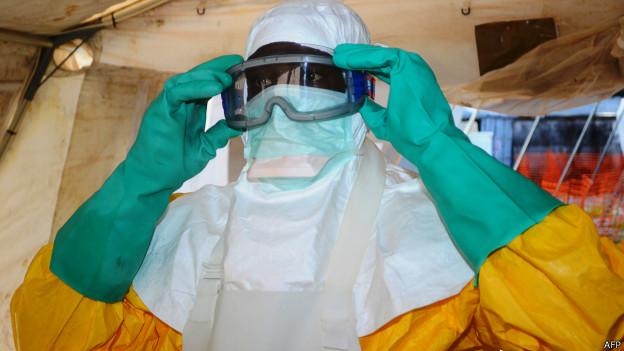Trabajador de la salud en Liberia