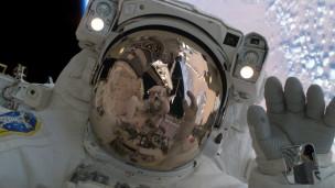 Astronauta japonês Soichi Noguchi (foto: AP/NASA)