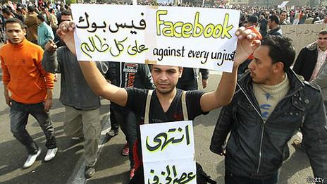 Manifestación en Egipto 2011