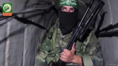 Escena de video de Hamas