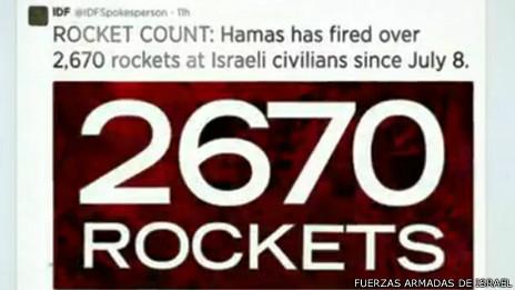 Captura de pantalla del sitio de las Fuerzas Armadas de Israel