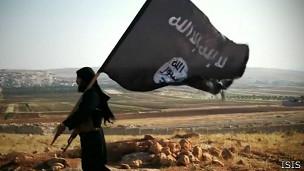 Escena de video de ISIS