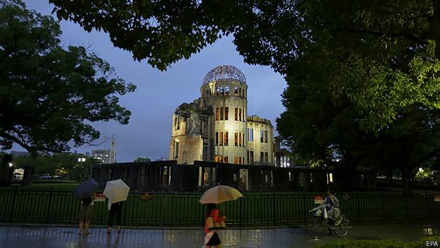 Monumento de la Paz en Hiroshima